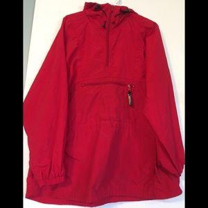 LL Bean Nylon Hiking Hooded Jacket Women's XL